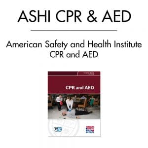 ASHI CPR AED Course